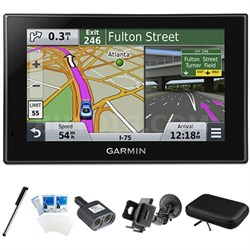 "nuvi 2639LMT Advanced Series 6"" GPS Navigation System Mount Bundle"