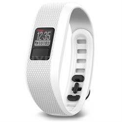 Vivofit 3 Activity Tracker Fitness Band - Regular Fit - White (010-01608-01)
