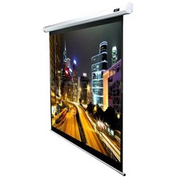 "84"" Electric Scrn Blk Casing"