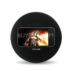 Ultra Portable Rechargeable Speaker Dock for iPhone 4/3GS/3G/2G