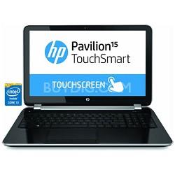 "Pavilion TouchSmart 15.6"" 15-n240us Notebook PC - Intel Core i3-4005U Processor"