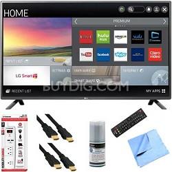 50LF6100 - 50-inch 120Hz Full HD 1080p Smart LED HDTV Plus Hook-Up Bundle