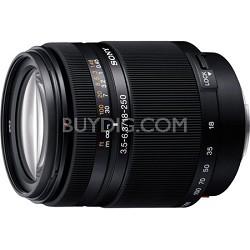 SAL18250 - DT 18-250mm f/3.5-6.3 High Magnification Autofocus Lens for Alpha
