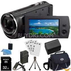 HDR-CX230/B 8GB Full HD Flash Memory Camcorder Ultimate Bundle