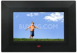7-Inch Digital Photo Frame with Slide Show and Music Function