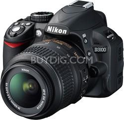 D3100 14MP DX-format Digital SLR Kit w/ 18-55mm VR Lens International Warranty