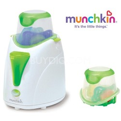 High Speed Bottle and Food Warmer with Pacifier Cleaning Basket