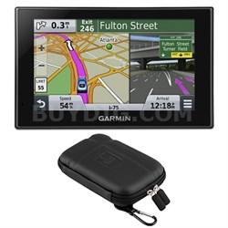 "nuvi 2559LMT Advanced Series 5"" GPS Navigation System w Bluetooth Case Bundle"