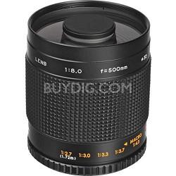 500mm F8.0 Mirror Lens - Black Body