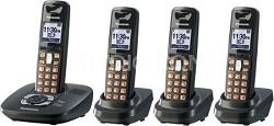 KX-TG6434T DECT 6.0 Expandable Digital Cordless Phone System