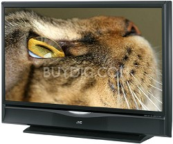"HD-56G787 HD-ILA 56"" High-definition LCoS Rear Projection TV (Black)"