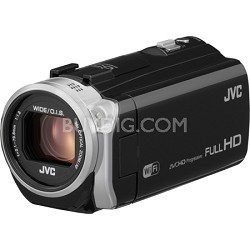GZ-EX515BUS- HD Everio Camcorder 38x Zoom f1.8 (Black)