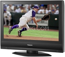 "TC-32LX600 Wide 32"" LCD high-def TV w/ 2 HDMI Inputs and 3-D Color Managment"