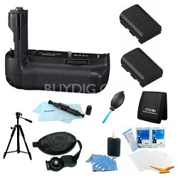 Advanced BG-E9 Battery Grip Bundle for the Canon EOS 60D