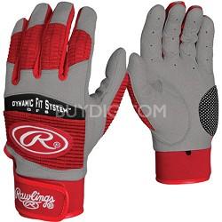 BGP950T Adult Workhorse 950 Series Batting Glove Scarlet Small