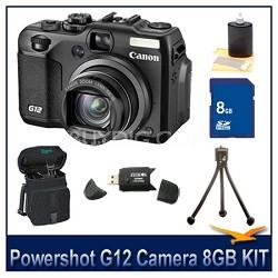 Powershot G12 Camera 8GB Bundle