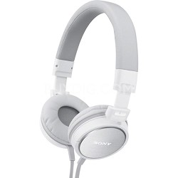 MDR-ZX600/WHI Headphones (White)