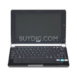 U160-412US 10 inch Screen 3 cell  Battery (up tp 9 Hours) Intel Atom N450