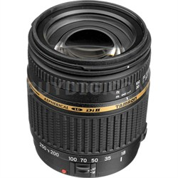 18-250mm F/3.5-6.3 AF Di-II LD IF Macro Built-In Motor Lens for Nikon Mounts