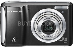 """FE-47 14MP 2.7"""" LCD Digital Camera (Black)"""