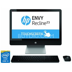 "ENVY Recline TouchSmart 23"" 23-k110 All-In-One PC - Intel Core i3-4130T Proc."