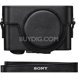 LCJRXF/B Premium Jacket Camera Case for RX100, RX100M2, RX100M3 - Black