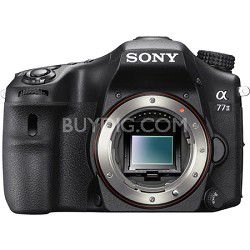 a77II 24.3MP HD 1080p DSLR Camera - Body Only - OPEN BOX