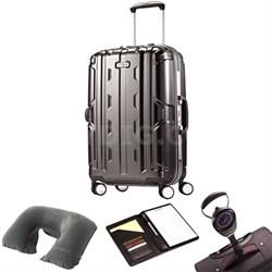 """Cruisair DLX Hardside Spinner 21"""" Anthracite 67117-1009 w/ Travel Kit"""