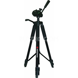 60-Inch Photo/Video Professional Tripod with Carrying Case APTP60