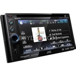 Bluetooth Double-DIN In-Dash ARSENAL DVD Multimedia Receiver (KWADV65BT)