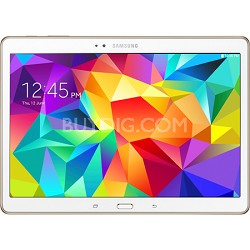 "Galaxy Tab S 10.5"" Tablet - (16GB, WiFi, Dazzling White) - OPEN BOX"