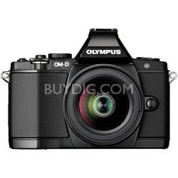 OM-D E-M5 BLK 14-42mm Black Digital SLR Camera