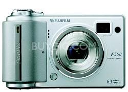 Finepix E550 6MP Digital Camera  W/ 4X Opt. Zoom