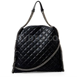 TOTES Quilted Totally Tote Bag - Black