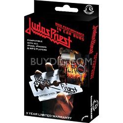 RBW-4958 - Judas Priest In-Ear Buds Window Box