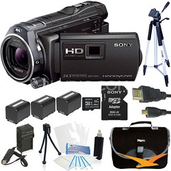 HDR-PJ810/B Full HD 60p/24p Camcorder Kit