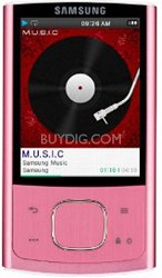 YP-R0JCP Pink 8GB Flash MP3 Player