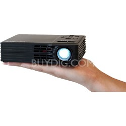 LED Showtime 3D Home Theater Projector w/ 1280x800 Native Resolution Refurbished