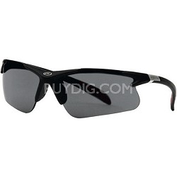 RAWL3 - Half-Rim Athletic Wrap Sunglasses