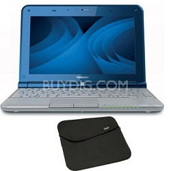 "Mini 10.1"" NB305-N600 Netbook PC with Intel N550 Dual Core Processor with Sleeve"