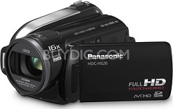 HDC-HS20K - Hi-Definition 80GB HDD / SD card Camcorder (Black)