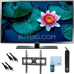 "UN40H5203 - 40"" Full HD 60Hz 1080p Smart TV Plus Mount & Hook-Up Bundle"
