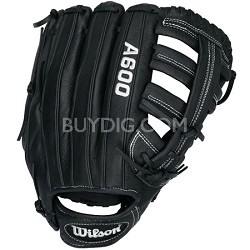 A600 Slowpitch Glove - Right Hand Throw - Size 13""