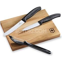 4-Piece Prep Set w/Cutting Board - 6.7603.3US1