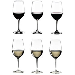 260 Years Celebration VINUM Riesling/Zinfandel; 6 Glasses (7416/56-260)