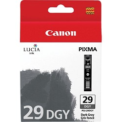 PGI-29 DGY - LUCIA Series Dark Gray Ink Cartridge for Canon PIXMA PRO-1 Printer