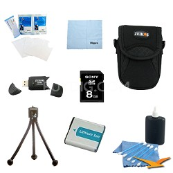 Loaded Accessory Kit for the Sony Cyber-shot DSC-HX50V, DSC-HX300, DSC-RX1,