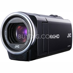 GZ-E10BUS - HD Everio Camcorder 40x Zoom f1.8 (Black)