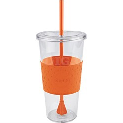 Eco First Tumbler 24 Ounce Togo Cup Mug - Orange (2510-9979)