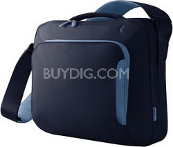 F8N076-MBE-DL 15-Inch Energy Collection Messenger Bag Midnight/Electric Blue